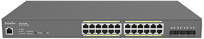 Cloud Managed 24-Port Gigabit Switch with 4 SFP+ Ports