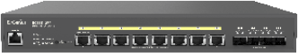 Cloud-Enabled 8 Port 10G Base-T 420W PoE++ Network Switch