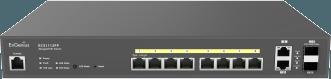Cloud Managed 8-Port Gigabit 130W PoE+ Switch
