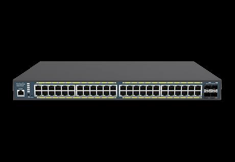 48-Port Managed Gigabit 410W PoE+ Network Switch