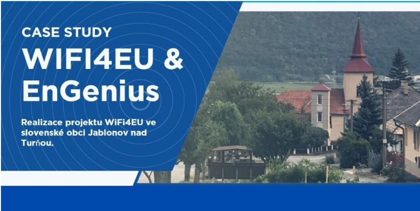 The WiFi4EU project in the Slovak village