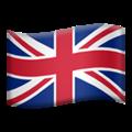 Flag: United Kingdom on Apple iOS 14.6