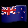 Flag: New Zealand on Apple iOS 14.6