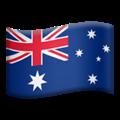 Flag: Australia on Apple iOS 14.6