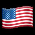 Flag: United States on Apple iOS 14.6
