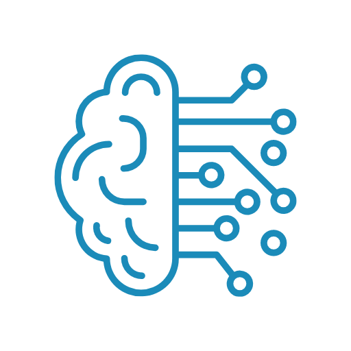 ai and machine learning icon