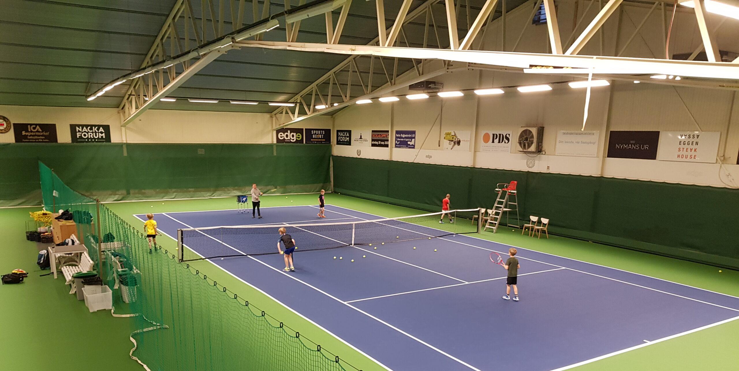 Tennisskolan - resterande säsong/ sommarsäsong