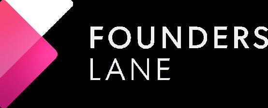 FoundersLane Logo White