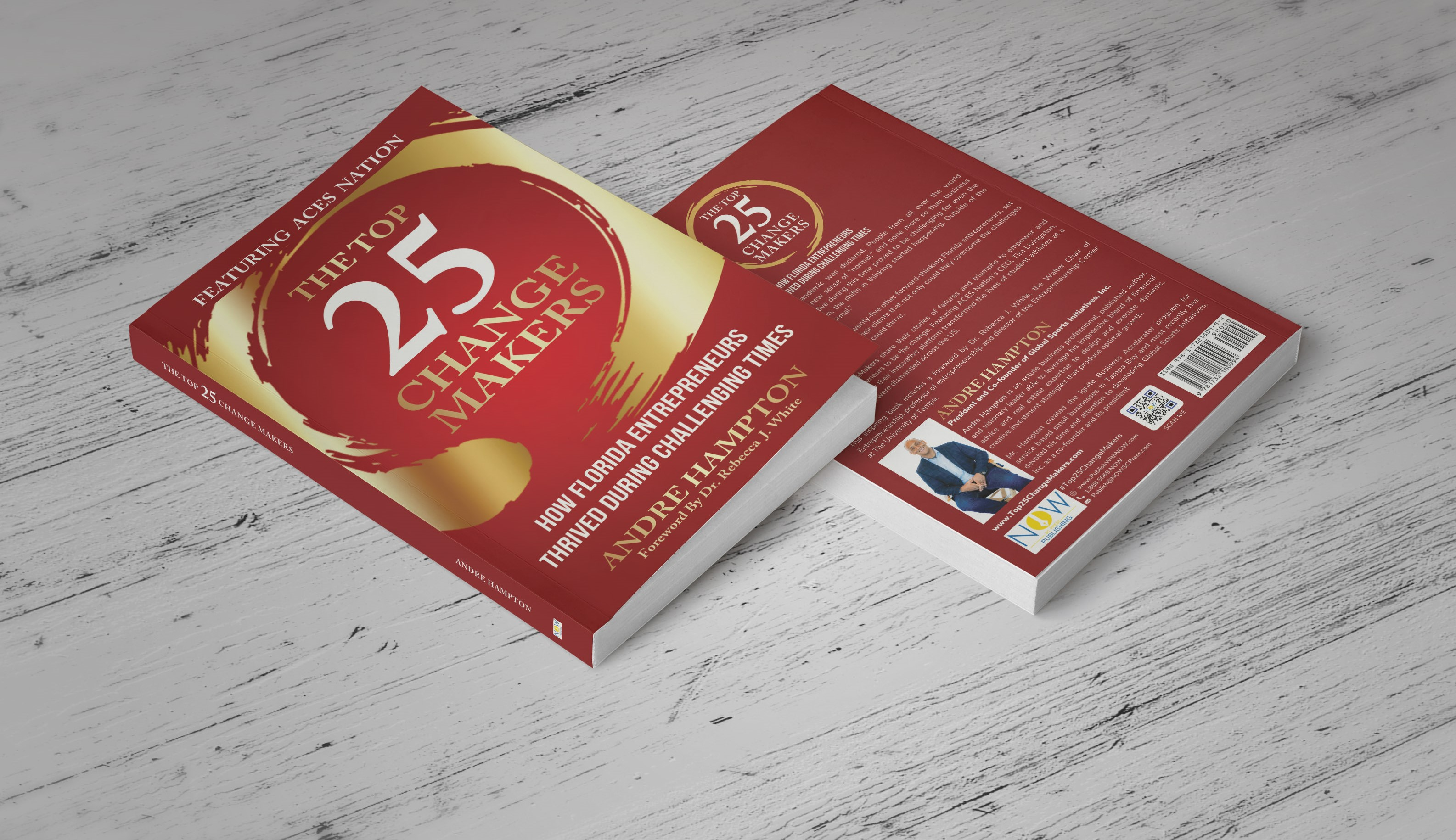 Florida Top 25 Change Makers Book Cover