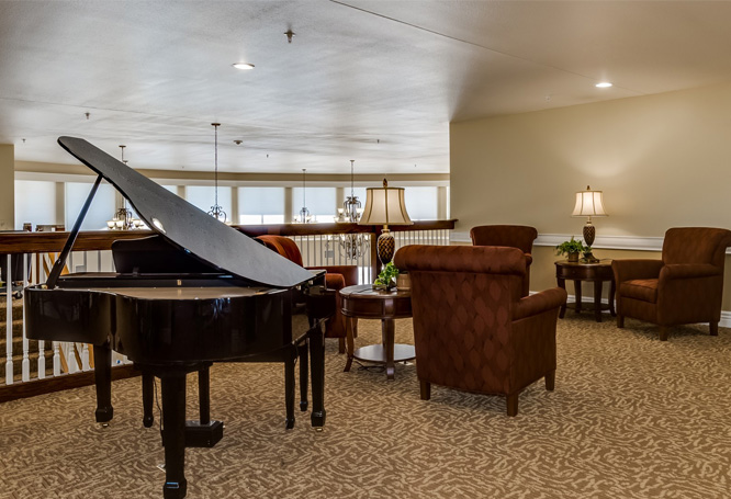 Autumn View Gardens Assisted Living and Memory Care Lobby
