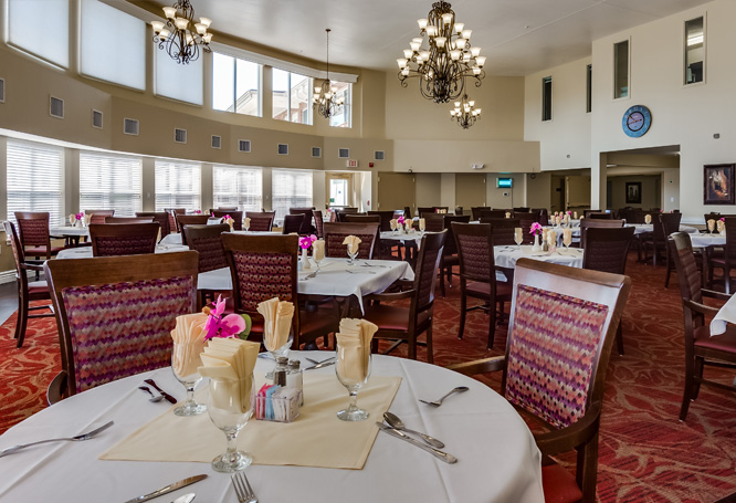 Autumn View Gardens Assisted Living and Memory Care Dining Room