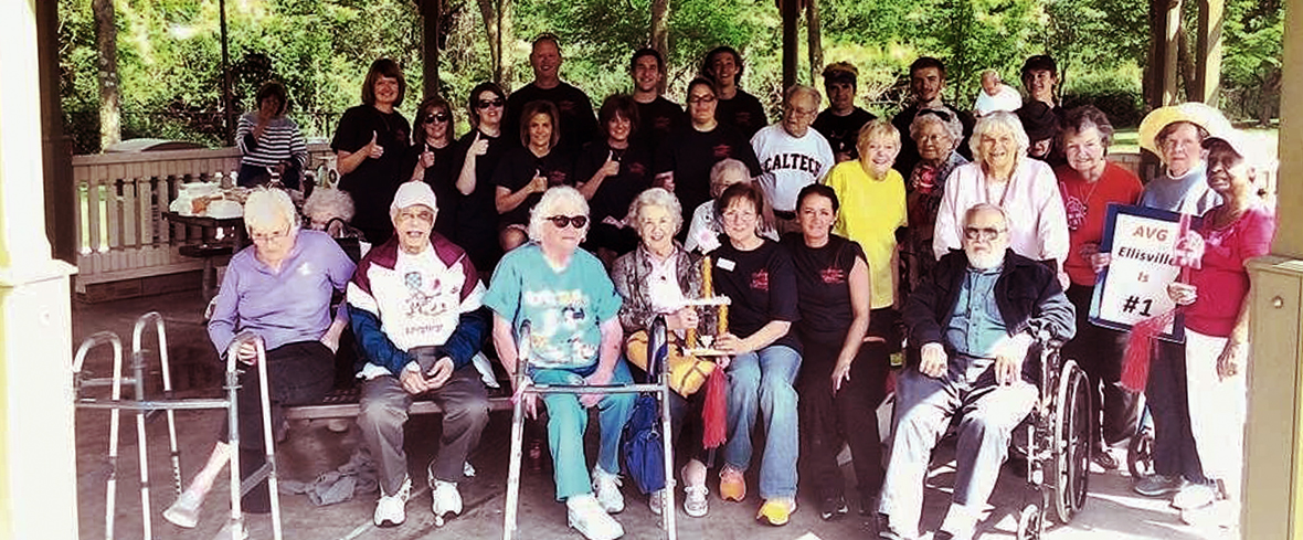 Autumn View Gardens Scores Big With First Annual Kickball Game