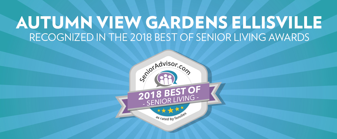 Autumn View Gardens Recognized in the 2018 Best of Senior Living Awards