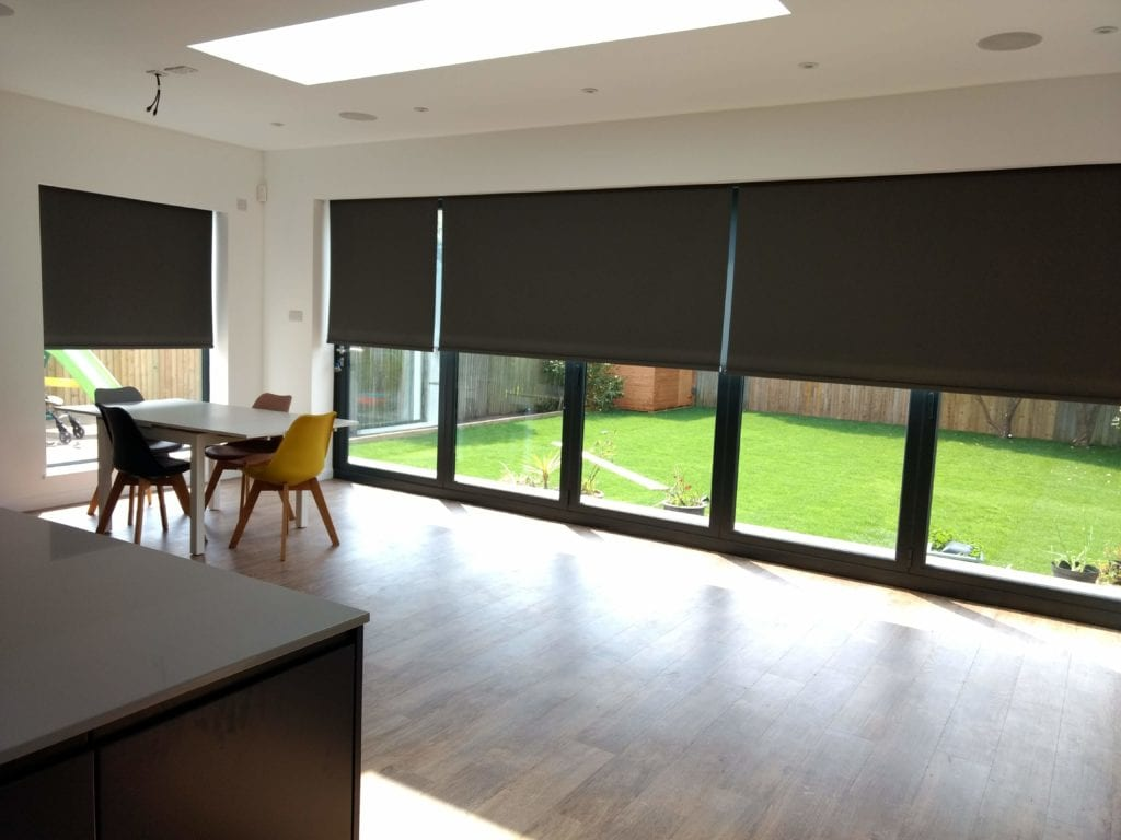 Electric blinds installation