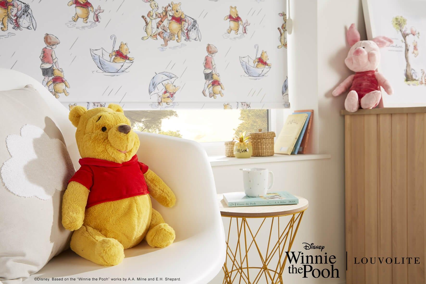 Disney Winnie the Poo roller blinds.