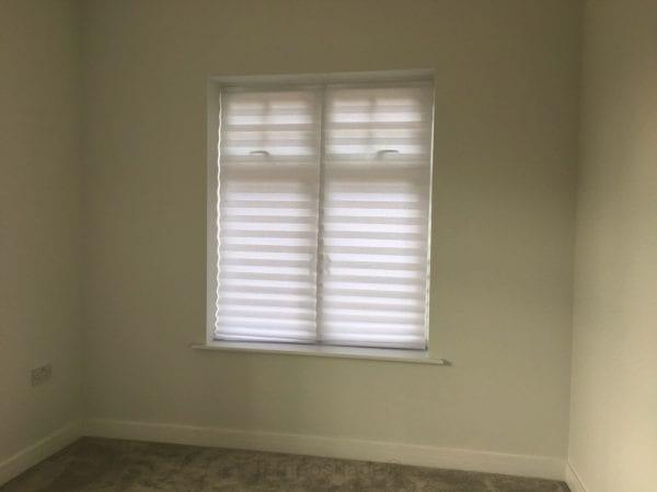 White Temposhade blinds