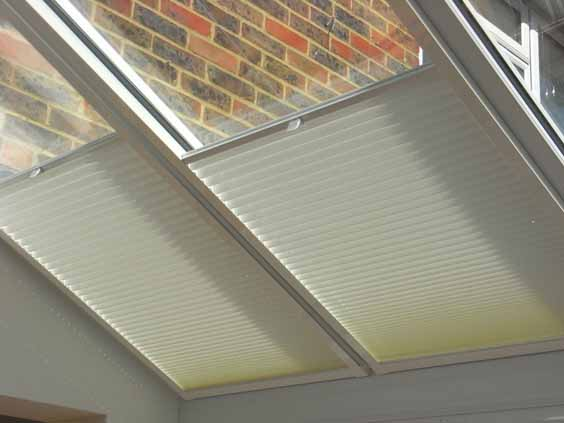 Perfect Velux blinds.