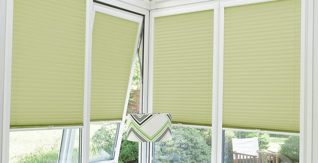 Perfect fit blinds.