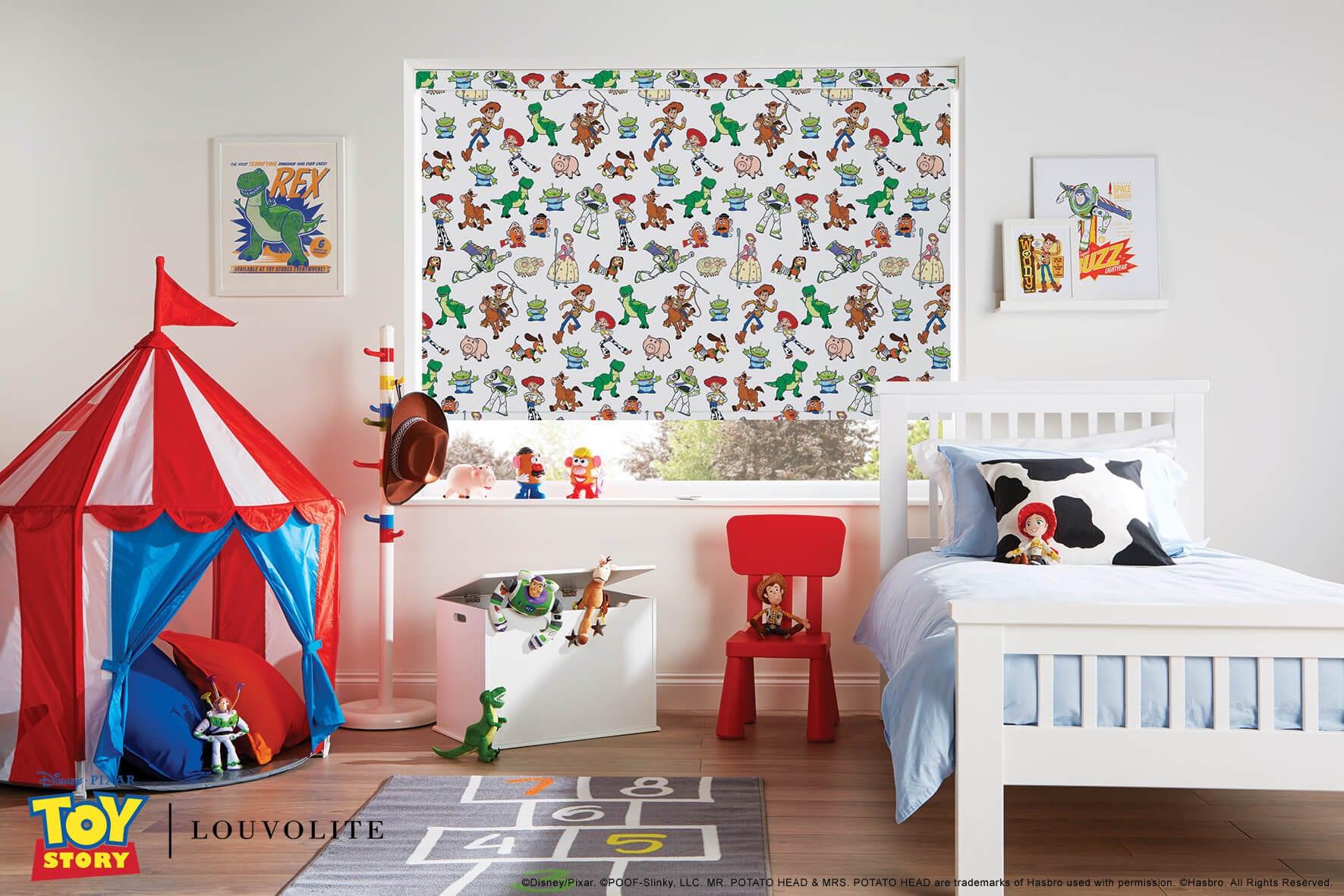 Disney Toy Story Roller blinds.