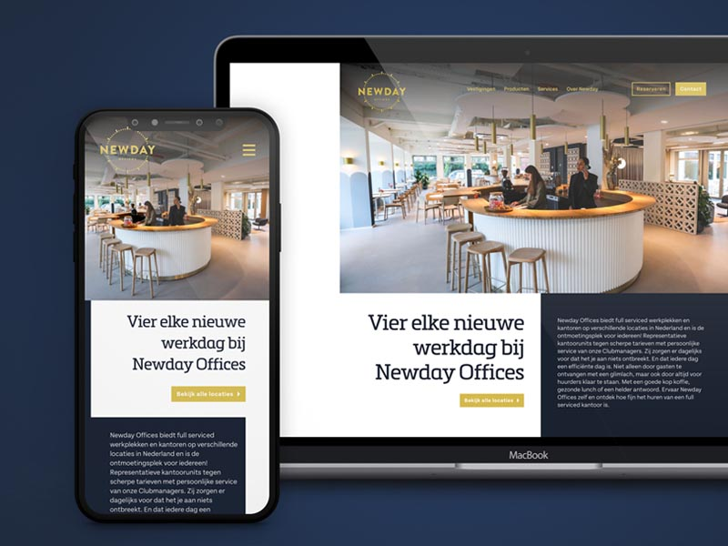 Underdock Amersfoort communicatie en webdesign