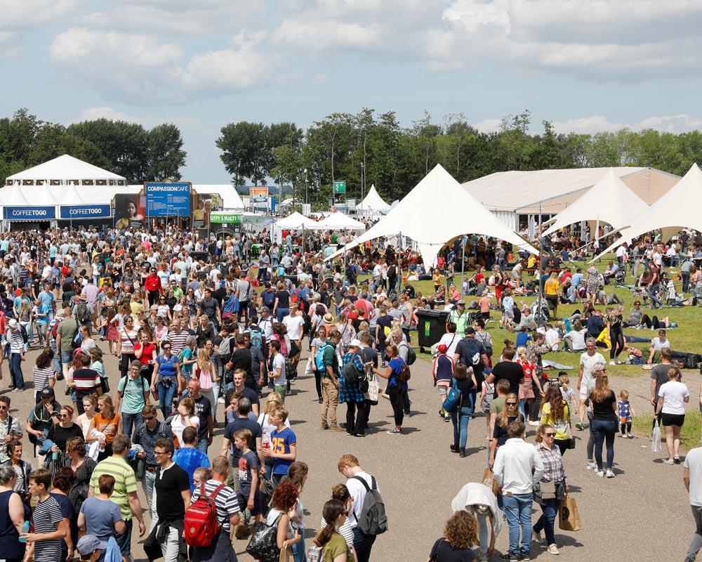 Online festival voor 70.000 bezoekers
