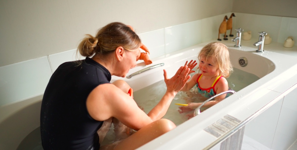 Why should we start toddler swimming at home???
