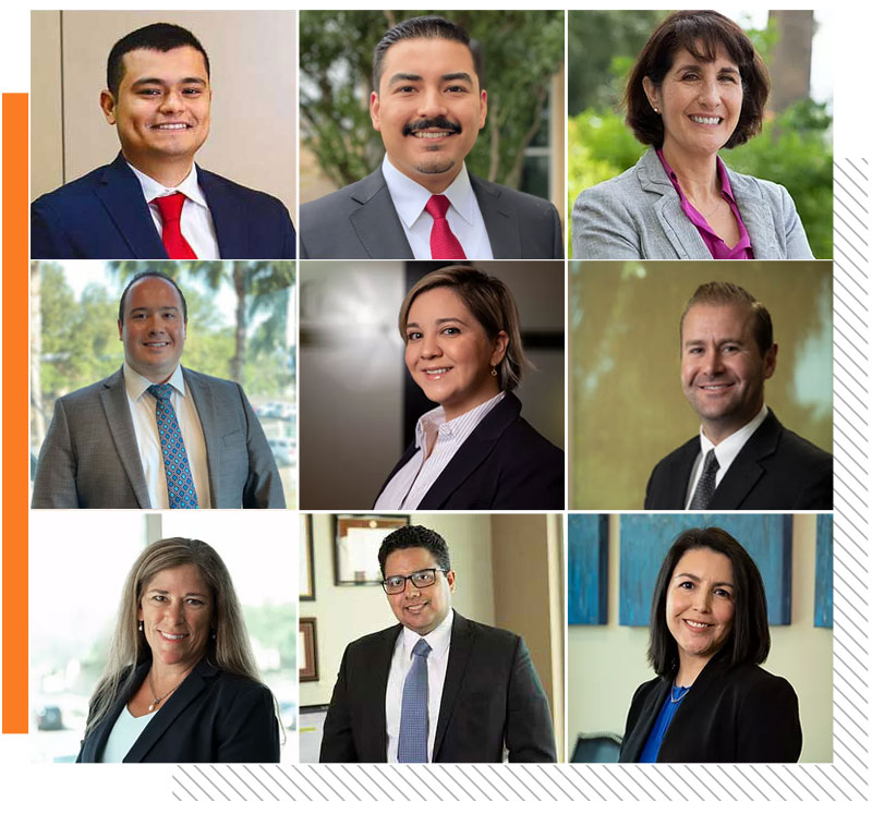 A photo grid of the attorneys at J. Cruz & Associates, LLC.