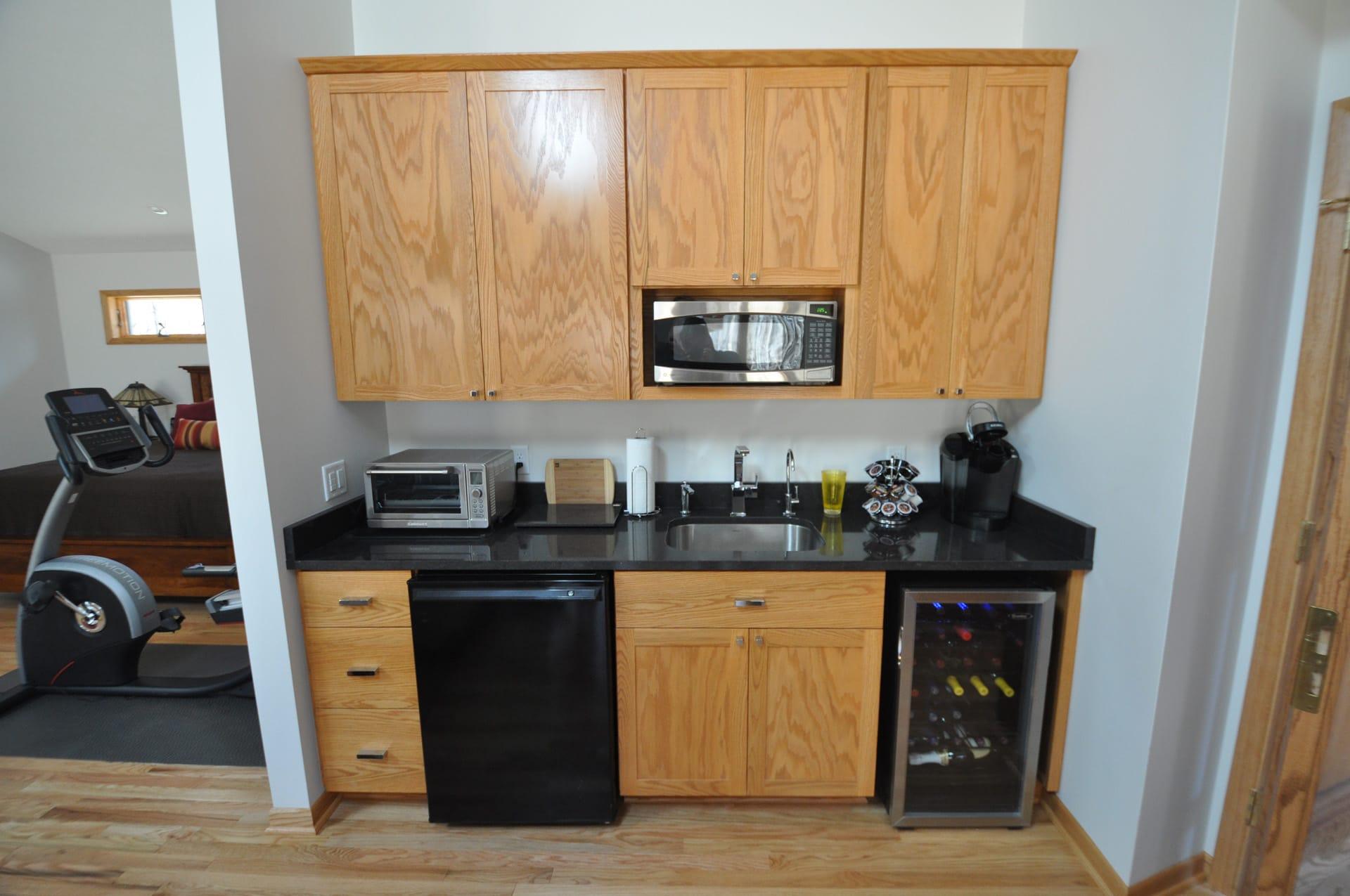 En suite kitchen