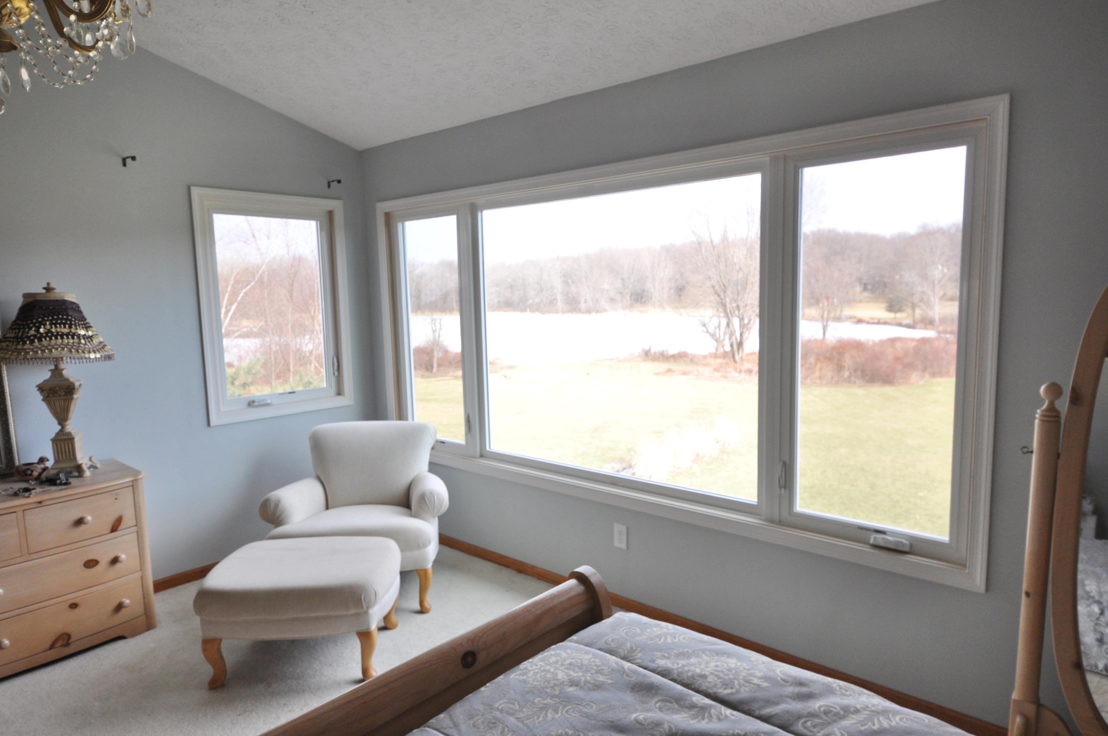 New bedroom window
