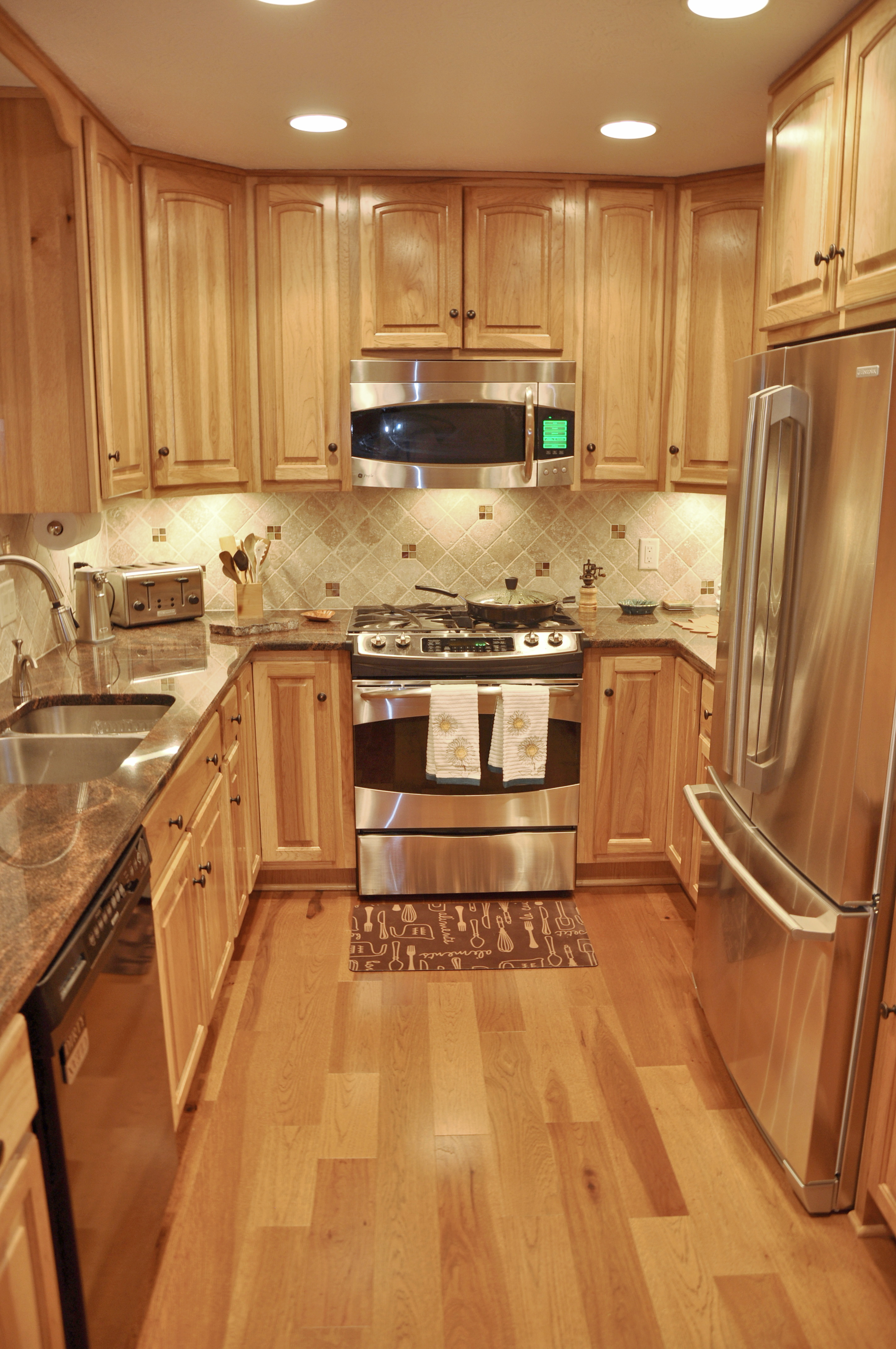 Tucked-Away Kitchen Remodel
