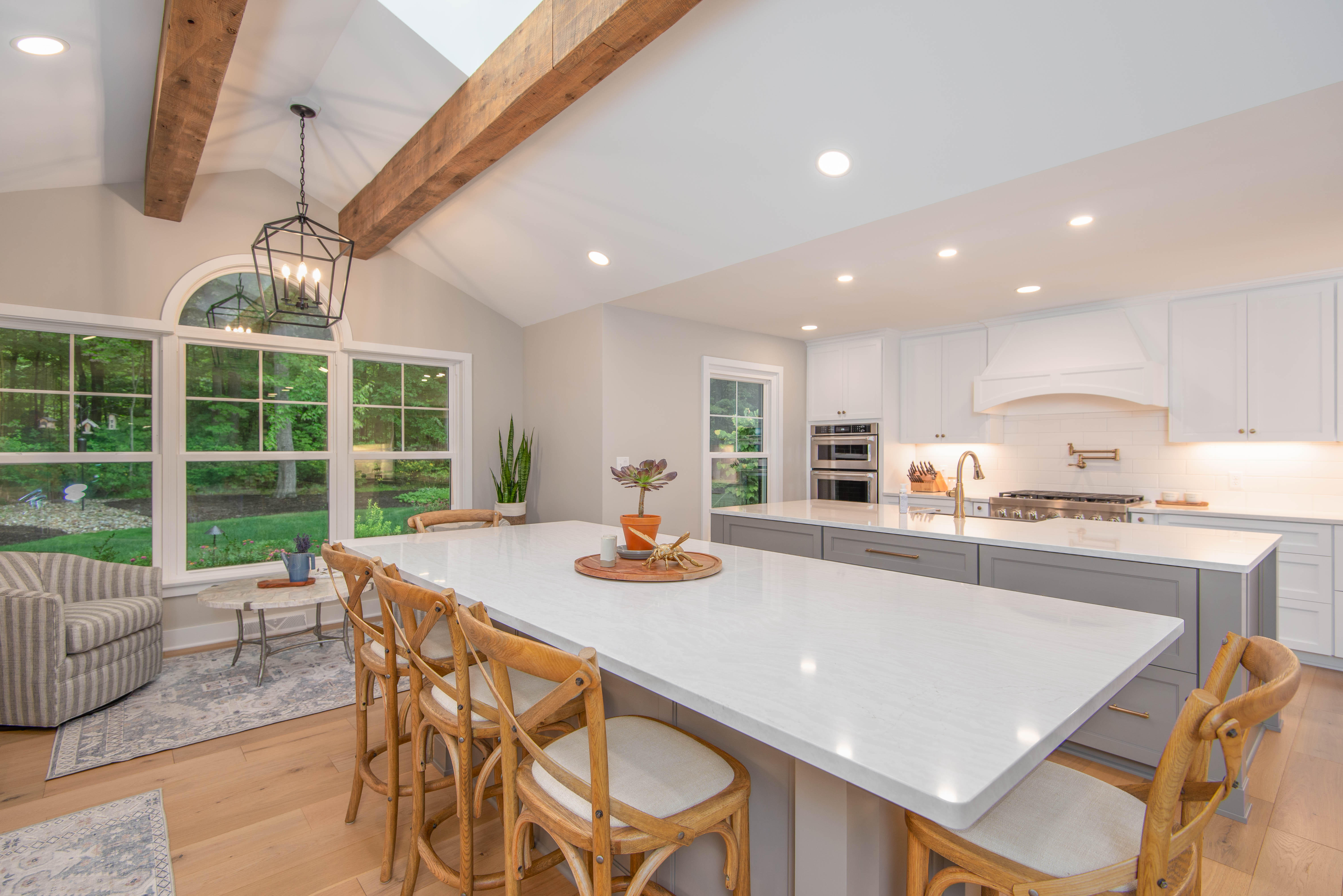 Kitchen Remodel with Double Island
