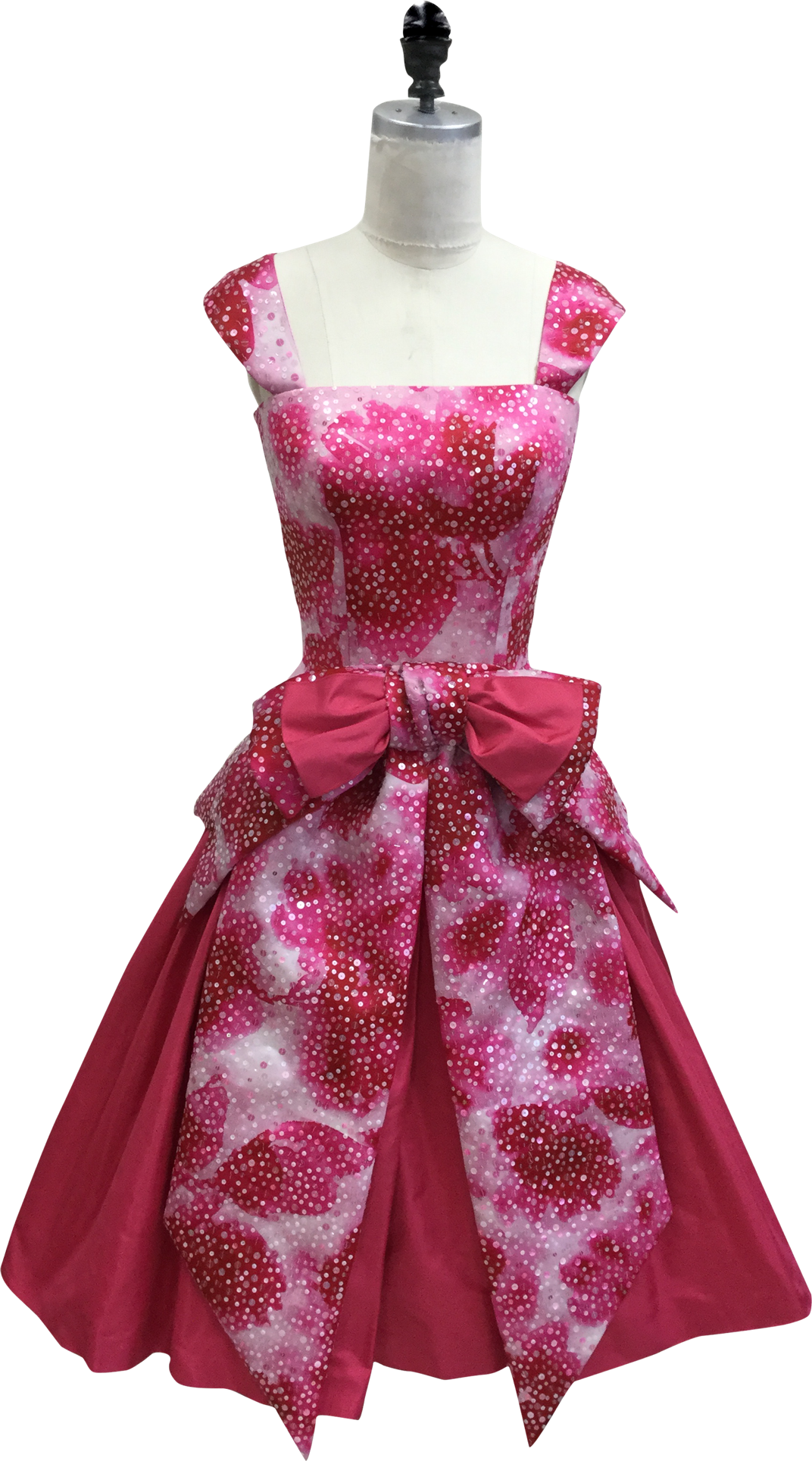 The Marvelous Mrs. Maisel Pink dress on mannequin