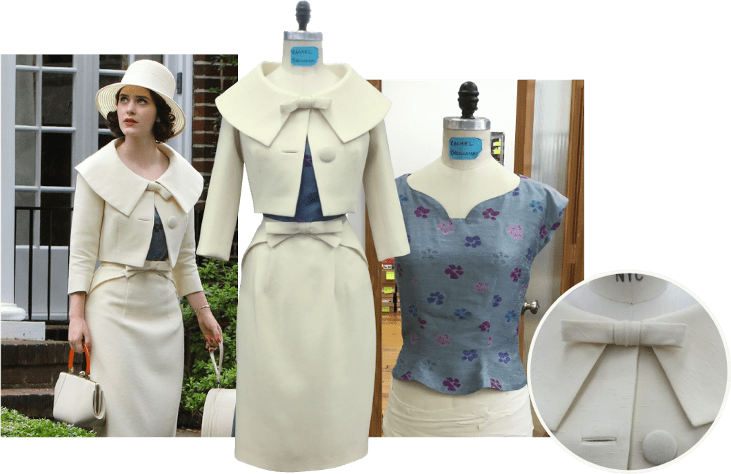 The Marvelous Mrs. Maisel costume collage