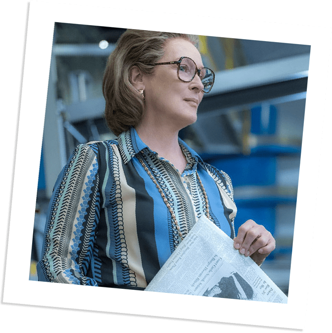 Meryl Streep | The Post Designer: Ann Roth