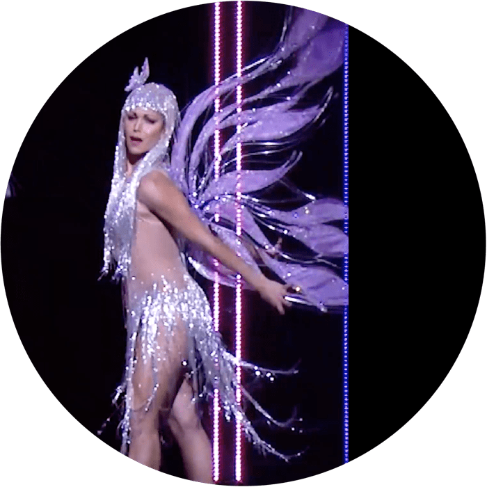 Cher dancing on stage feature image