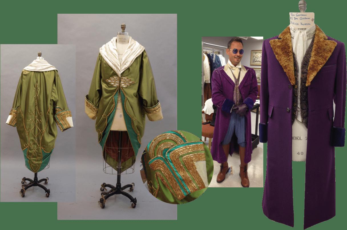 Don Giovanni costume collage