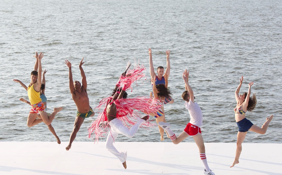 Choreography by Al Blackstone - Fire Island Dance Festival 2019 photo by Daniel Roberts