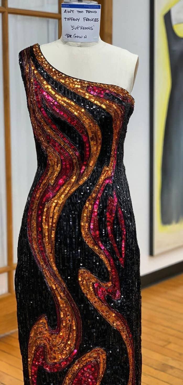 vibrant dress