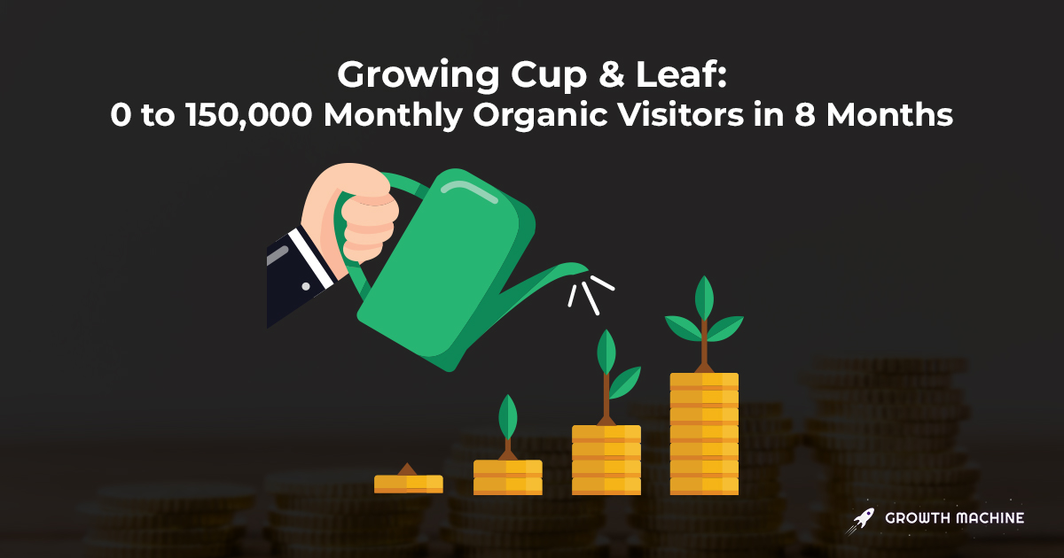 SEO Case Study: 0 to 150,000 Monthly Visitors in 8 Months