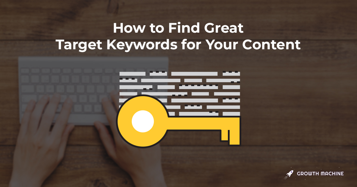 How to Find 100+ Great Keywords in Less than 1 Hour
