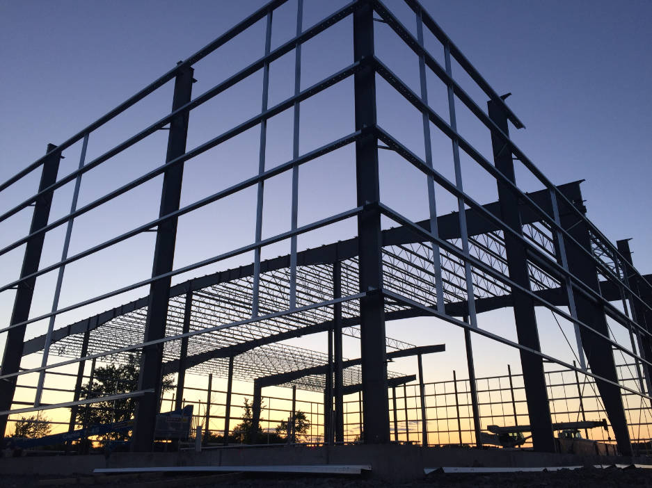 Steel structure for factory