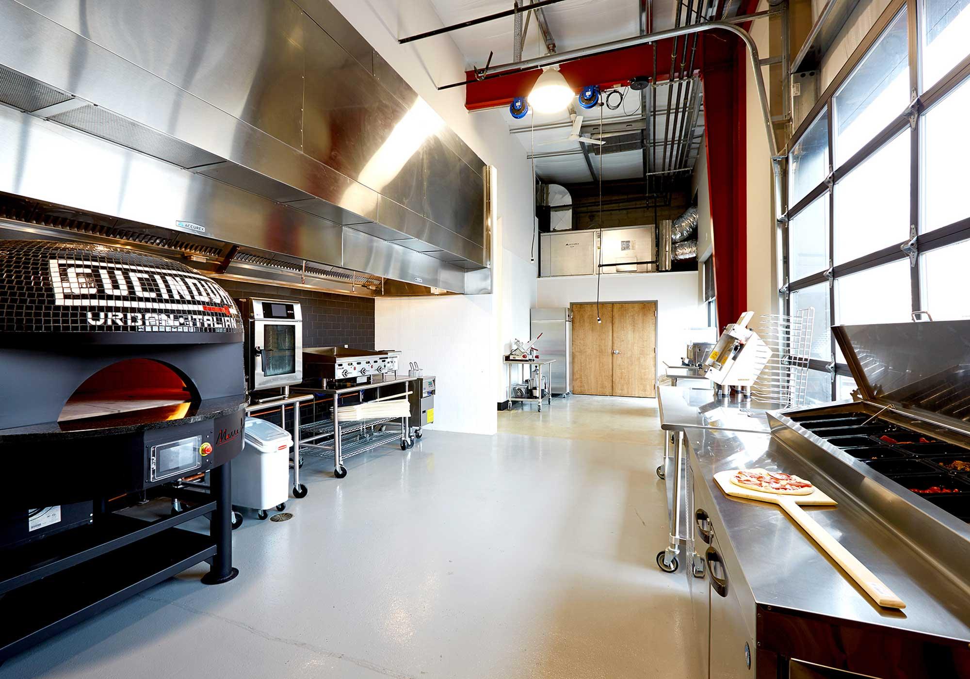 Sbarro test kitchen