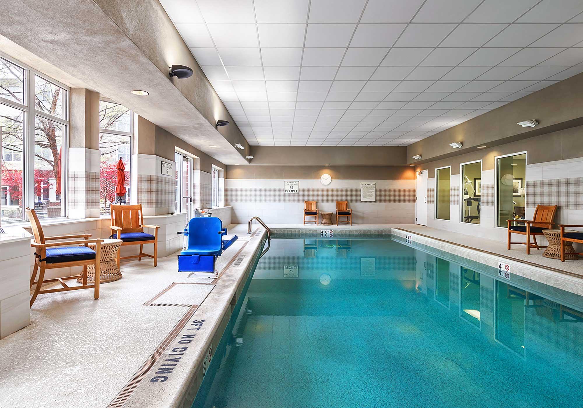 Rectangular swimming pools