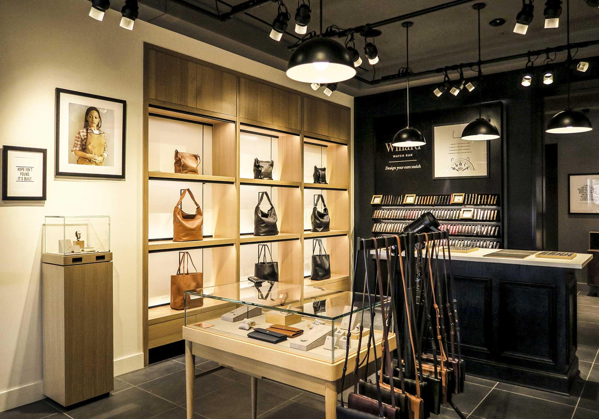 Purse and pocketbook display