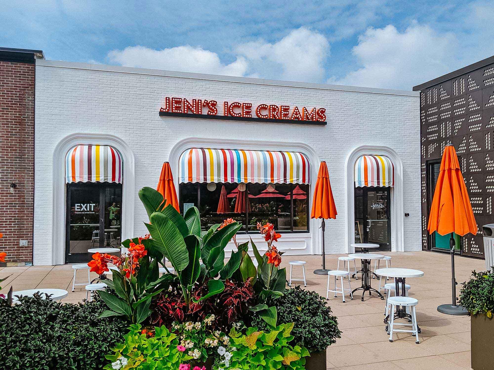 Exterior of Jeni's Ice Creams