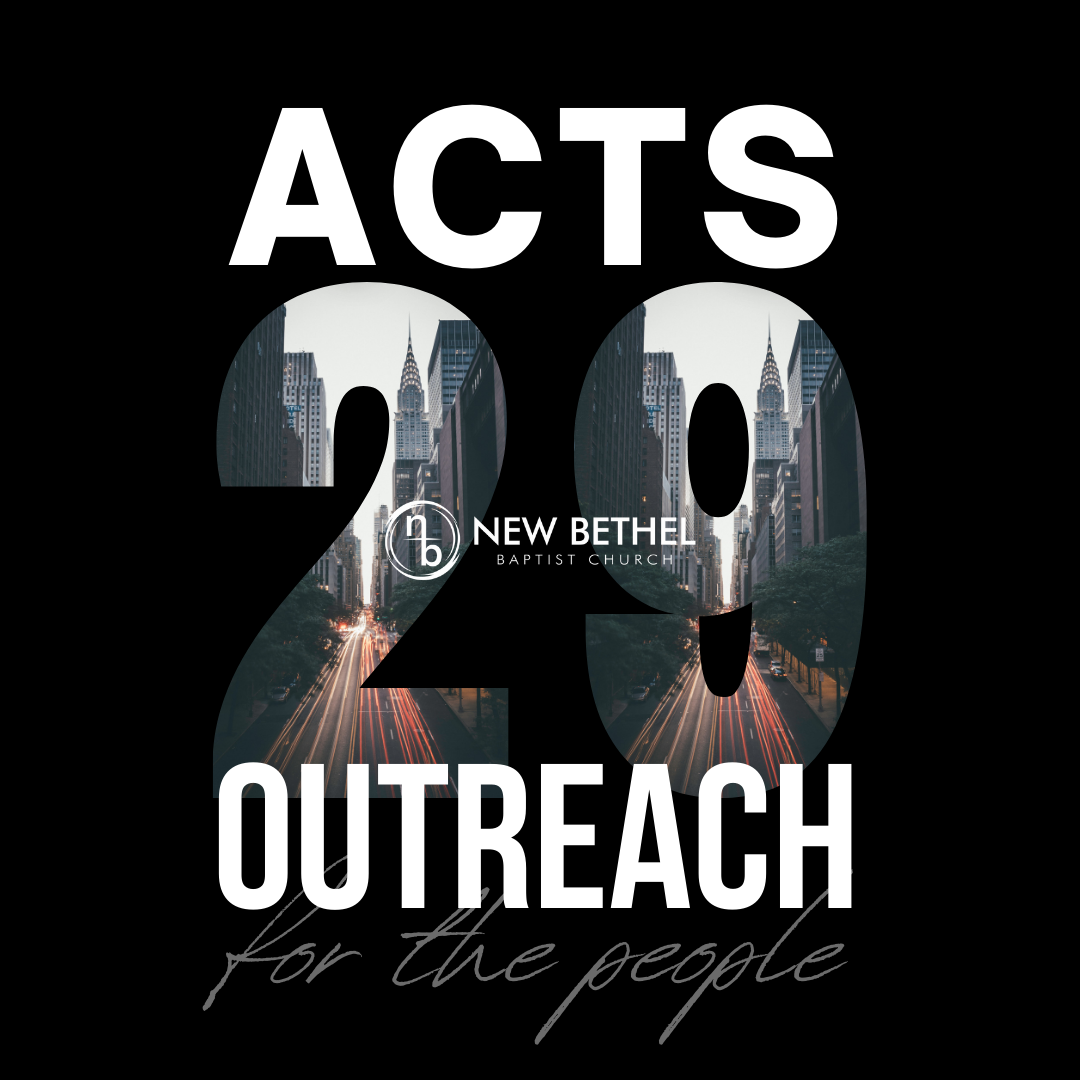 Acts 29 Outreach Ministry