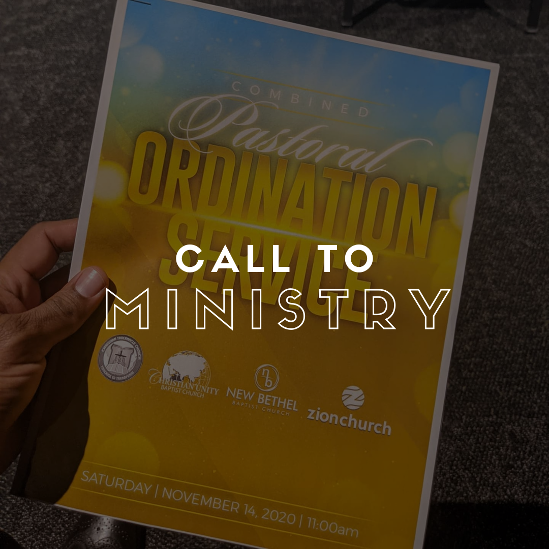 Call To Ministry