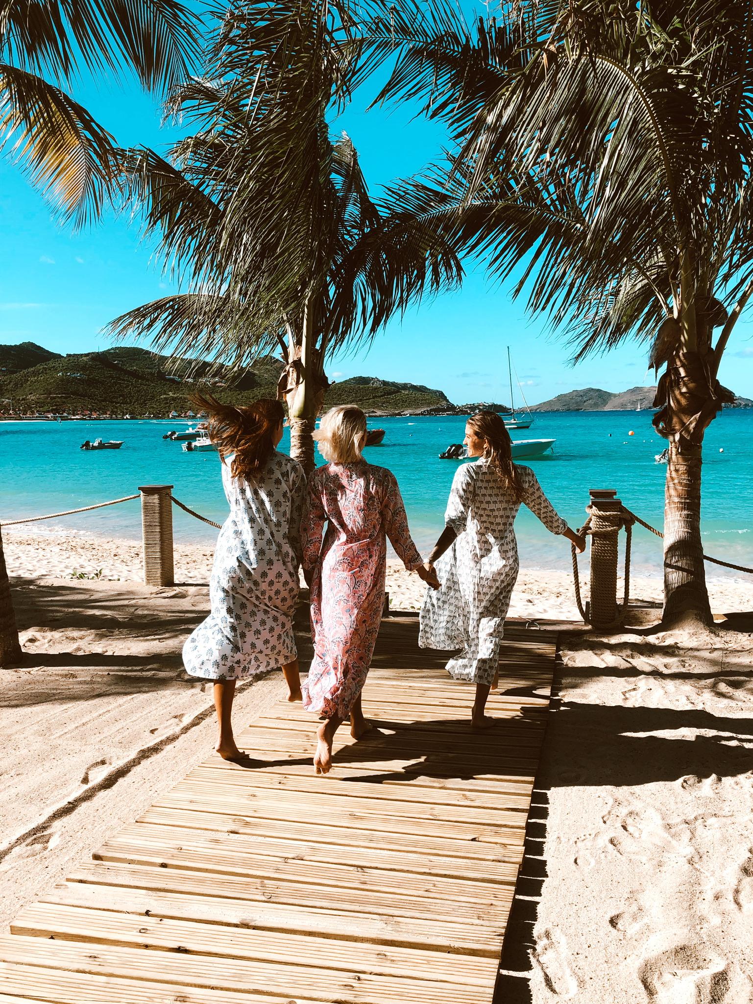 Bohemian lifestyle at Gyp Sea Beach