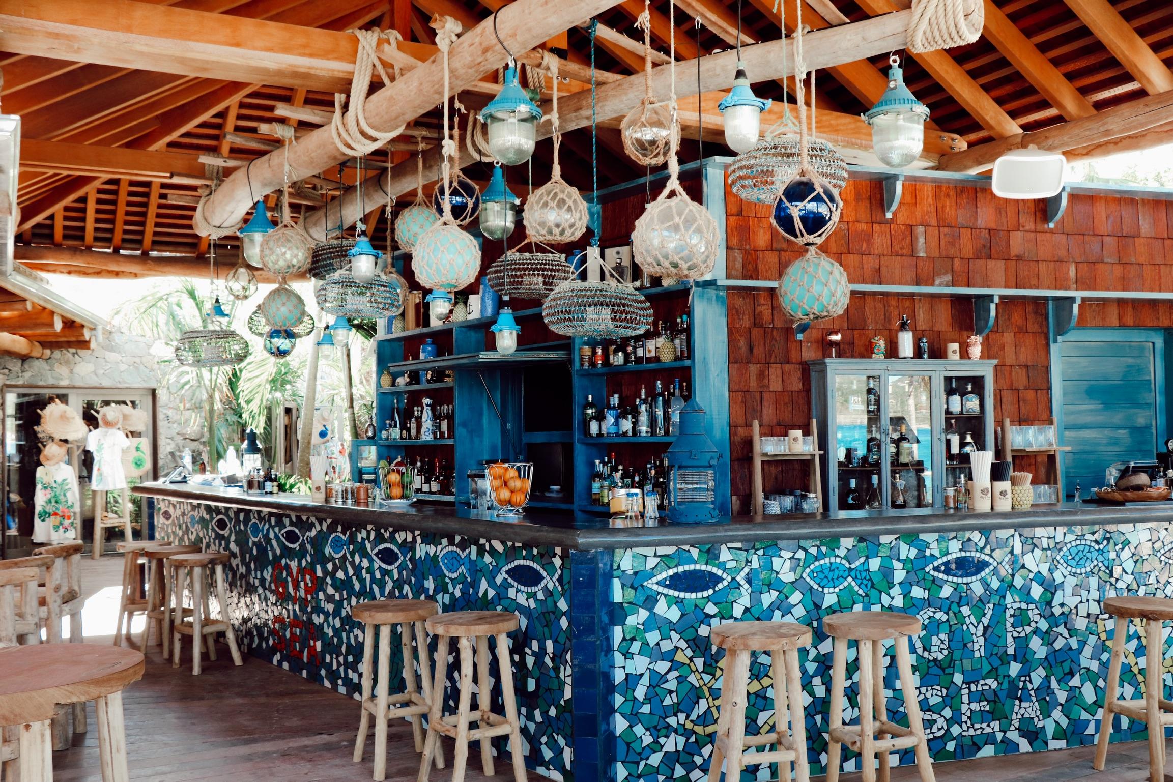 beach club in saint barth