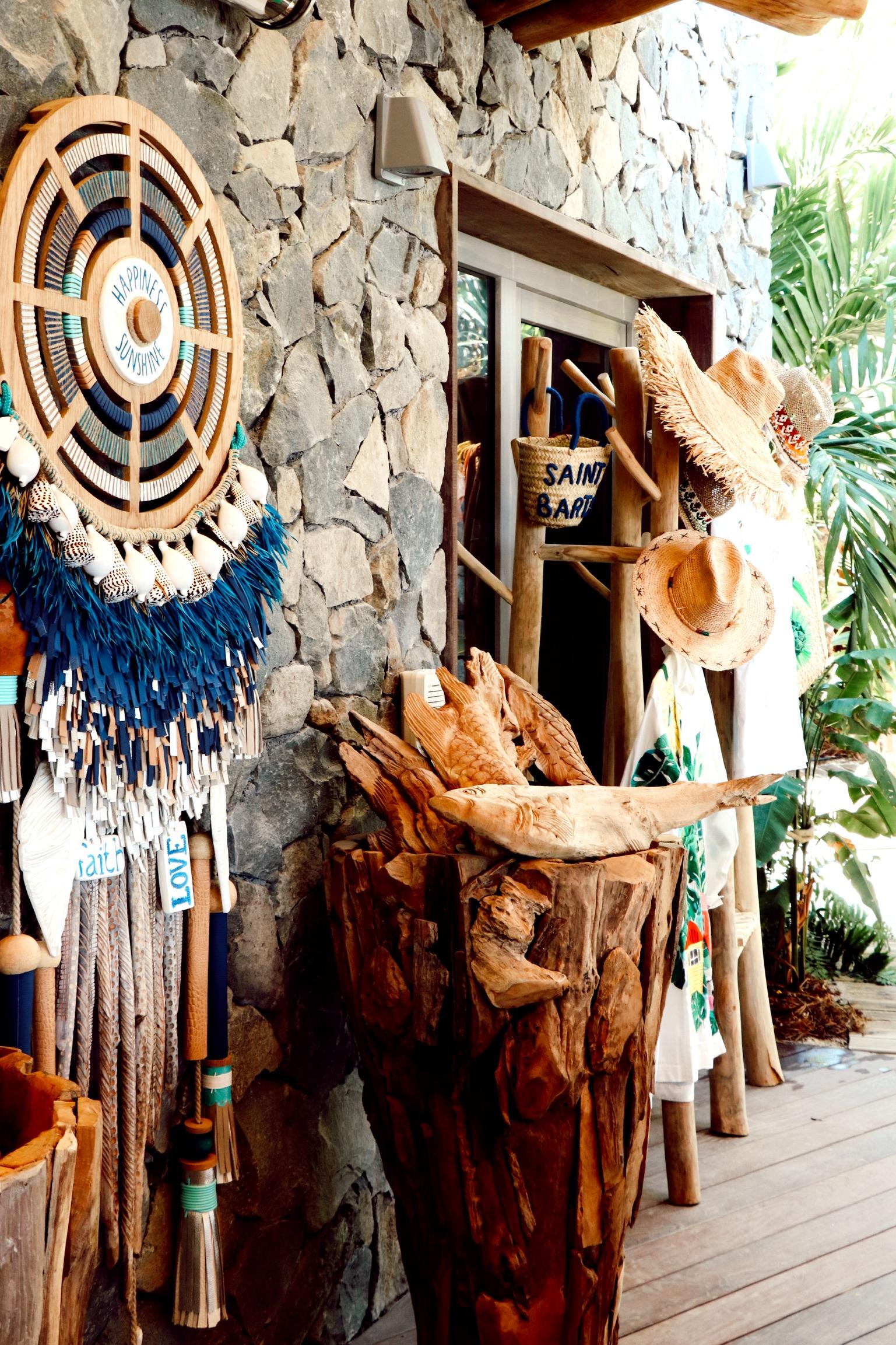 best shopping in saint barth at the Gyp SEA beach club